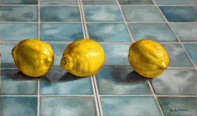 Still Life with Three Lemons