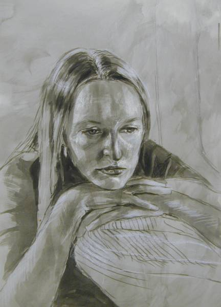 Study for Portrait of Ruth