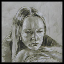 Drawings: Portrait Studies; image from Drawing of Ruth