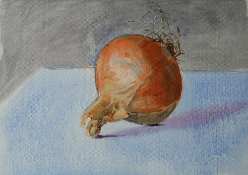 Onion Oil Sketch