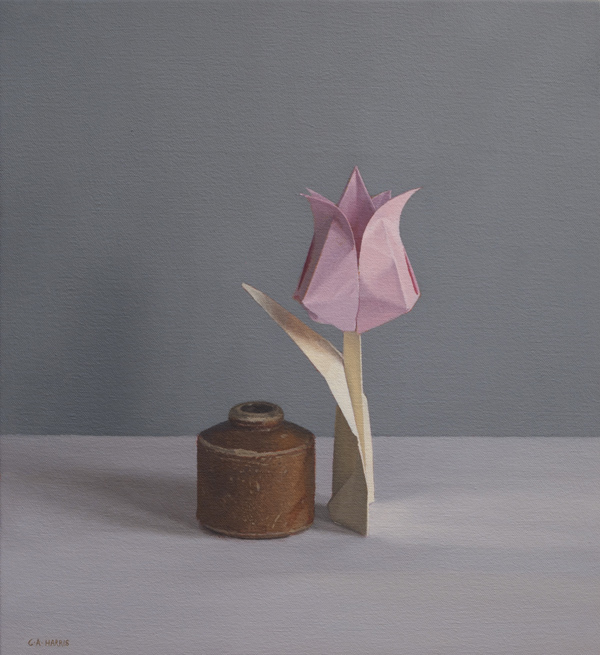 Paper Tulip and Pot
